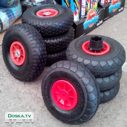 Как сделать резиновые колёса на детский электромобиль